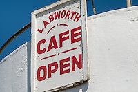 The Labworth Cafe, Western Esplanade, Canvey Island, Essex, Britain - June 2014.<br /> <br />  modernist style building, built in 1932&ndash;1933 by Ove Arup.