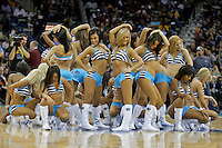Oct 30, 2009; New Orleans, LA, USA; New Orleans Hornets Honeybees dance team performs during a break in the action in a game against the Sacramento Kings at the New Orleans Arena. The Hornets defeated the Kings 97-92. Mandatory Credit: Derick E. Hingle-US PRESSWIRE
