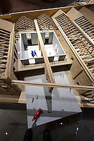 Venice, Italy - 15th Architecture Biennale 2016, &quot;Reporting from the Front&quot;.<br /> Arsenale.<br /> Tatar Ando. Puntadella Dogana.