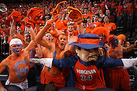 UVa basketball fans.
