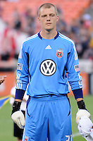 D.C. United goalkeeper Joe Willis (31). D.C. United defeated The Vancouver Whitecaps FC 4-0 at RFK Stadium, Saturday August 13 , 2011.