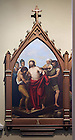 Stations of the Cross in the Basilica of the Sacred Heart.  Station 10...Photo by Matt Cashore..
