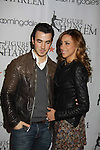 Kevin Jonas & wife Dani at the 2012 Skating with the Stars - a benefit gala for Figure Skating in Harlem celebrating 15 years on April 2, 2012 at Central Park's Wollman Rink, New York City, New York.  (Photo by Sue Coflin/Max Photos)