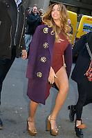 DEC 12 Celebrities arrive at Billboard's Women in Music Luncheon