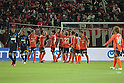 Omiya Ardija team group,.APRIL 21, 2012 - Football / Soccer :.Omiya Ardija players celebrate after the 2012 J.League Division 1 match between Omiya Ardija 2-0 Urawa Red Diamonds at NACK5 Stadium Omiya in Saitama, Japan. (Photo by Hiroyuki Sato/AFLO)