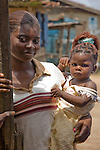 Mother and child, Agboyi-Ketu, Lagos