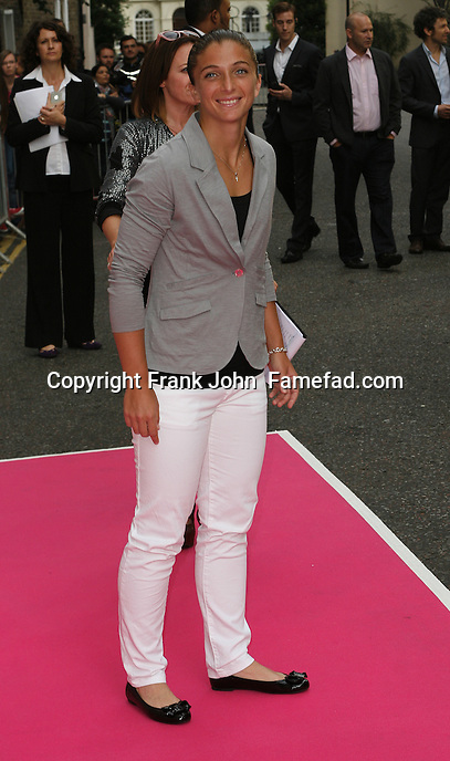 Sara Errani at the 2013 WTA Pre Wimbeldon Party held at The Rooftop Gardens in Kensington on 20 June 2013. Red Carpet Arrival Photos