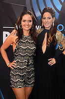 LOS ANGELES, CA - NOVEMBER 20: Danica McKellar, Kerri Kasem at Westwood One on the carpet at the 2016 American Music Awards at the Microsoft Theater in Los Angeles, California on November 20, 2016. Credit: David Edwards/MediaPunch