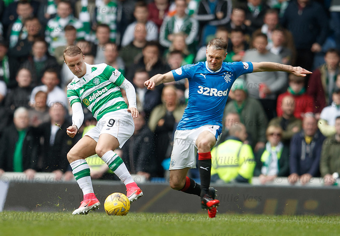Leigh Griffiths and Clint Hill