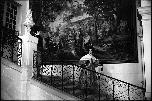 Mannequins, Chateau Ussé (Sleeping Beauty Castle) by Paul Cooklin