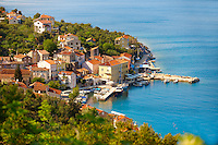 Valun fishing village, Cres Island, Croatia