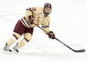 Michael Sit (BC - 18) - The Boston College Eagles defeated the visiting Northeastern University Huskies 3-0 after a banner-raising ceremony for BC's 2012 national championship on Saturday, October 20, 2012, at Kelley Rink in Conte Forum in Chestnut Hill, Massachusetts.