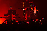 MIAMI BEACH, FL - NOVEMBER16: Pet Shop Boys perform at the Fillmore on November 16, 2016 in Miami Beach, Florida. Credit: mpi04/MediaPunch