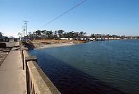1989 February 01..Conservation.East Ocean View....SHORE DRIVE BRIDGE...NEG#.NRHA#..
