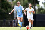 06 September 2015: North Carolina's Dorian Bailey (29) and USC's Nicole Molen (11). The University of North Carolina Tar Heels played the University of Southern California Trojans at Koskinen Stadium in Durham, NC in a 2015 NCAA Division I Women's Soccer match. UNC won the game 2-1.