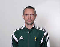 FUSSBALL Fototermin FIFA WM Schiedsrichterassistenten 09.04.2014 Dalibor DJURDJEVIC (Serbien)