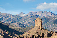 The Watchtower in the Shoshone National Forest Wyoming