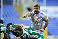 Tomas Francis of Exeter Chiefs. Aviva Premiership match, between London Irish and Exeter Chiefs on February 21, 2016 at the Madejski Stadium in Reading, England. Photo by: Patrick Khachfe / JMP