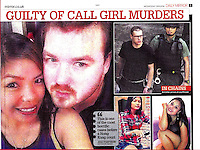 Daily Mirror Newspaper 09Nov2016<br /> British banker Rurik Jutting found guilty of murdering two Indonesian women in Hong Kong on 9th Nov, 2016