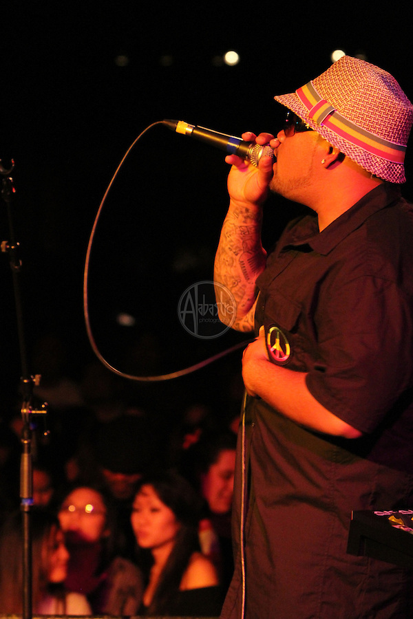 Rebel Souljahz performing during Springfest '12 at The Showbox SODO.