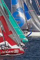 ITALY, Sardinia, Cagliari, AUDI MedCup, 21st September 2010,  Region of Sardinia Trophy, Start.