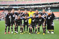 DC United team photo.  DC United defeated Chivas USA 3-2 at RFK Stadium, Saturday May 29, 2010.
