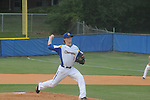 Oxford High's James Lear vs. Hernando in high school baseball playoff action in Oxford, Miss. on Saturday, May 5, 2012. Hernando won 9-6.