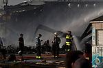 a massive fire engulfed dozens of businesses along a boardwalkin in Seaside Park