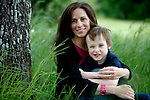 Infertility counsellor Jennifer Vining hugs her four year old son, Andrew, in Victoria, British Columbia. Vining, whose son Andrew was conceived via in vitro fertilization, has tried surrogate pregnancy unsuccessfully and is considering trying it again or adoption. Photo assignment for Canwest News Service.