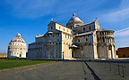 The Duomo &amp; Bapistry of Pisa, Italy