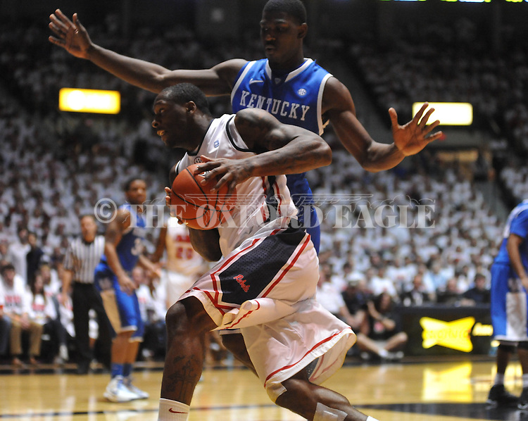 Ole Miss' Murphy Holloway (31) vs. Kentucky at the C.M. &quot;Tad&quot; Smith Coliseum on Tuesday, January 29, 2013. Kentucky won 87-74.