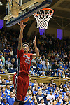 02 November 2013: Drury's Ian Carter (23). The Duke University Blue Devils played the Drury University Panthers in a men's college basketball exhibition game at Cameron Indoor Stadium in Durham, North Carolina. Duke won the game 81-65.