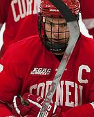Jake Weidner (Cornell - 7) - The Harvard University Crimson defeated the visiting Cornell University Big Red on Saturday, November 5, 2016, at the Bright-Landry Hockey Center in Boston, Massachusetts.