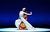 National Ballet of China <br /> The Peony Pavillion <br /> at Sadler's Wells, London, Great Britain <br /> press photocall / rehearsal <br /> 29th November 2016 <br /> <br /> Zhu Yan as Du Liniang <br /> <br /> <br /> <br /> <br /> Photograph by Elliott Franks <br /> Image licensed to Elliott Franks Photography Services