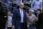 18 February 2017: UNC assistant coach Brad Frederick. The University of North Carolina Tar Heels hosted the University of Virginia Cavaliers at the Dean E. Smith Center in Chapel Hill, North Carolina in a 2016-17 Division I Men's Basketball game. UNC won the game 65-41.