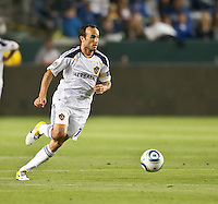 CARSON, CA – May 14, 2011: LA Galaxy midfielder Landon Donovan (10) during the match between LA Galaxy and Sporting Kansas City at the Home Depot Center in Carson, California. Final score LA Galaxy 4, Sporting Kansas City 1.