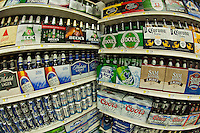 A supermarket beer department in New York seen on Tuesday, September 18, 2012. (© Richard B. Levine)