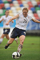 Rachel Buehler at the 2010 Algarve Cup.