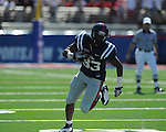 Ole Miss tight end Ferbia Allen (83) makes a catch at Vaught-Hemingway Stadium in Oxford, Miss. on Saturday, September 4, 2010.