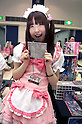 June 2, 2012, Tokyo, Japan - Anime stand shows merchandise at the Moe Culture Festival 2012.  The Anime and Cosplay exhibition &quot;Moe Culture Festival 2012&quot; from June 2nd to 3rd at Otaku Sangyou Plaza Pio..