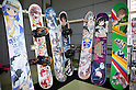 "June 2, 2012, Tokyo, Japan - Anime Snow board tables exhibit at the Moe Culture Festival 2012.  The Anime and Cosplay exhibition ""Moe Culture Festival 2012"" from June 2nd to 3rd at Otaku Sangyou Plaza Pio.."