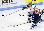 Vinny Saponari (BU - 27), Ryan Thang (Notre Dame - 9) - The University of Notre Dame Fighting Irish defeated the Boston University Terriers 3-0 on Tuesday, October 20, 2009, at Agganis Arena in Boston, Massachusetts.