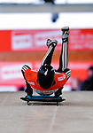 17 December 2010: Michael Coutts sliding for New Zealand, finishes in 23rd place at the Viessmann FIBT Skeleton World Cup Championships in Lake Placid, New York, USA. Mandatory Credit: Ed Wolfstein Photo
