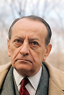 Virginia, USA - February 15, 1972. André Malraux visits the US, where he met and consulted with American President Richard Nixon, before leaving for China. He (November 3, 1901 - November 23, 1976) was a French art theorist, novelist, he wrote the 1933 Prix Goncourt winning novel La Condition Humaine, and was the Minister for Cultural Affairs during Charles de Gaulle's presidency from 1959 - 1969.