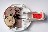 CARBON MONOXIDE DETECTOR<br /> A Battery Powered Electrochemical Device<br /> Porous platinum electrodes catalyse electrode reactions of CO &amp; O2  as they diffuse into the sensor. Current flow in the sensor is proportional to the concentration of carbon monoxide in the air and is set to trigger an alarm when it reaches a set value