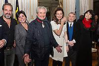 Claude Lelouch fait Commandeur de l'Ordre de la Couronne à Bruxelles - Belgique
