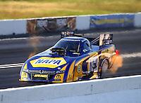 Jun 11, 2016; Englishtown, NJ, USA; NHRA funny car driver Ron Capps during qualifying for the Summernationals at Old Bridge Township Raceway Park. Mandatory Credit: Mark J. Rebilas-USA TODAY Sports