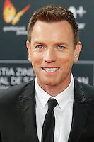 Ewan McGregor attends the American Pastoral premiere during the 64th San Sebastian Film Festival at Kursal in San Sebastian, Spain. . Credit: Jimmy Olsen/MediaPunch ***NO SPAIN***