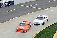 30 March - 1 April, 2012, Martinsville, Virginia USA.Joey Logano, The Home Depot Toyota Camry, David Ragan.(c)2012, Scott LePage.LAT Photo USA