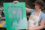 """Emily Cline...From 10 a.m. to 4 p.m. at the Howard Hall site. """"Inkahoots is the culmination of a four-day, collaborative artmaking project between invited artists Delicious Design League, Indiana University Bloomington, Athens High School and OU School of Art students. Unique handmade artworks will be printed and on sale at the Howard Hall site across from College Green."""""""